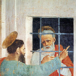 Filippino Lippi - St Peter Visited In Jail By St Paul