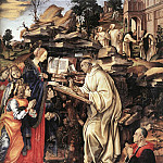 Filippino Lippi - Apparition of The Virgin to St Bernard 1486