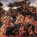 Filippino Lippi - Adoration of the Magi 1496