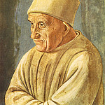 Filippino Lippi - Portrait of an Old Man 1485