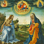 Filippino Lippi - The Intervention of Christ and Mary