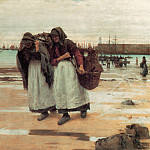 Walter Langley - The Breadwinners (Newlyn Fishwives)