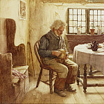 Walter Langley - A Poor Mans Meal