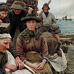 Walter Langley - Waiting for the Boats