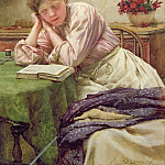 Walter Langley - A Quiet Read