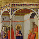Lo Spagna (Giovanni di Pietro) - Christ Before Pilate