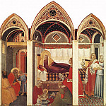 Pietro Lorenzetti - The Birth Of Mary