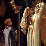 Frederick Leighton - Light of the Harem c1880