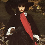 Portrait of May Sartoris, Frederick Leighton