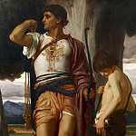 Jonathans Token to David, Frederick Leighton