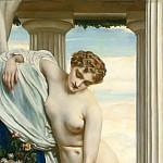 Frederick Leighton - Venus Disrobing for the Bath