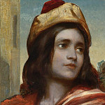 Frederick Leighton - Musician's Head From Cimabue