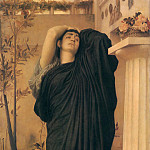 Frederick Leighton - Electra at the Tomb of Agamemnon