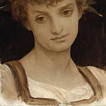 Girls Head, Frederick Leighton