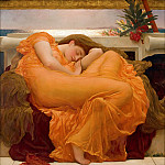 Frederick Leighton - Flaming June