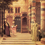 Frederick Leighton - Old Damascus - Jews Quarter