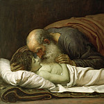 Frederick Leighton - Elisha Raising the Son of the Shunamite