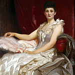 Portrait Of Amy Augusta, Lady Coleridge, Frederick Leighton