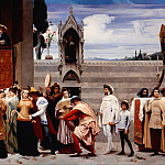 Frederick Leighton - Cimabue s Madonna Carried in Procession