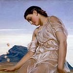 Frederick Leighton - The Knucklebone Player