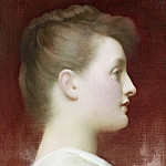 Girl in profile, Frederick Leighton