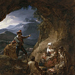 Bandits Entering a Shepherd's Dwelling