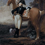 Johan Adam von Gertten , governor of Strömsholm, colonel, landscape painter