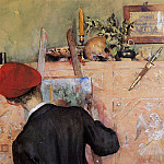 Carl Larsson - The Still Life Painter