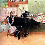 Carl Larsson - Skalorna (Playing Scales)