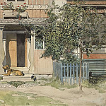 Carl Larsson - The Veranda. From A Home