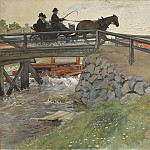 Carl Larsson - The Bridge. From A Home