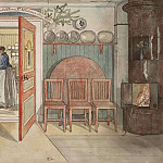 Carl Larsson - Old Anna. From A Home