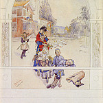 Carl Larsson - My Loved Ones SnD SUNDBORN 1893 watercolor on paper 45.1 by 3