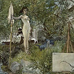 Carl Larsson - Open-Air Studio. From A Home