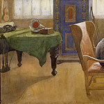 Carl Larsson - Esbjörn at the Study Corner