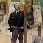 Carl Larsson - Self Portrait