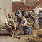 Charles Emile De Tournemine - Paying the Harvesters