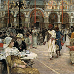 William Logsdail - Piazza of St Mark-s Venice