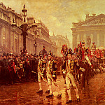 William Logsdail - Sir James Whitehead's Procession