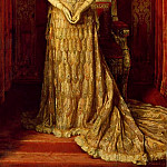 William Logsdail - Mary Victoria Leiter, Marchioness Curzon in her Peacock Gown