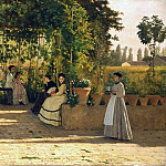 Bernardo Bellotto - The Pergola