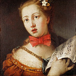 Antonio Barzaghi-Cattaneo - Portrait of a Young Singer