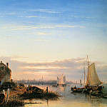 Charles Henri Joseph Leickert - View on IJ Amsterdam
