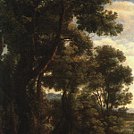Claude Lorrain - Lorrain Landscape with Goatherd, 1636, oil on canvas, Nation