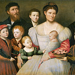 Portrait of Arrigo Licinio and his Family
