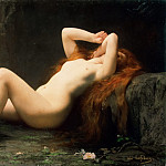 Mary Magdalene In The Cave, Jules-Joseph Lefebvre