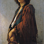 Charles Zacharie Landelle - Young Bohemian Serb