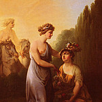 Lorentzen_Christian_August_Flora_And_Ceres, Лорен Лоренца
