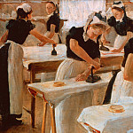 Sabine Lepsius - Girls Ironing
