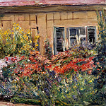 Joseph Peter Wilms - Flowers at Gardeners Cottage
